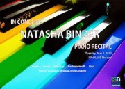 Natasha Binder : pianiste virtuose